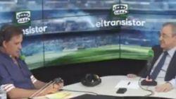 Críticas a José Ramón De la Morena por hacer este chiste en directo a Florentino