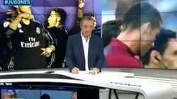 El 'zasca' de Pedrerol a Emilio Butragueño por su espantada cuando le preguntan por