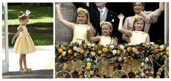 Pili Carrera: la firma española viste a las hijas de los nuevos reyes de Holanda