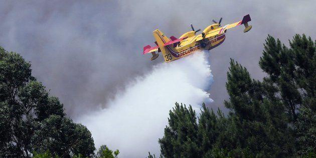 Protección Civil de Portugal desmiente que un avión antiincendios se haya estrellado en Pedrógâo