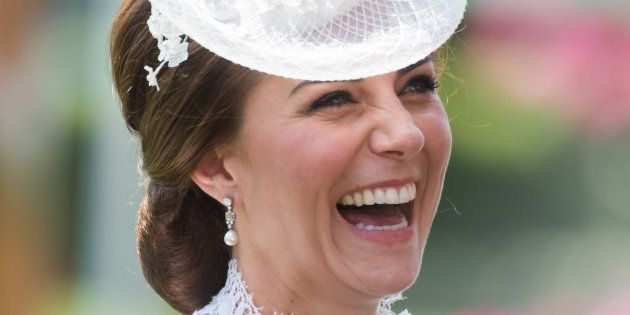 Catalina, la duquesa de Cambridge, en la primera jornada de las carreras hípicas de Ascot de