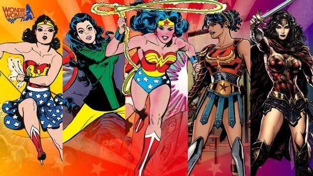 La evolución de Wonder Woman y su traje a través del