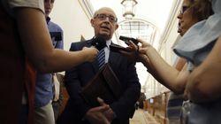 La amenaza de Montoro al PSOE por la amnistía fiscal: