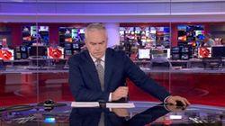 En la BBC también pasan cosas como la que protagonizó este periodista durante CUATRO