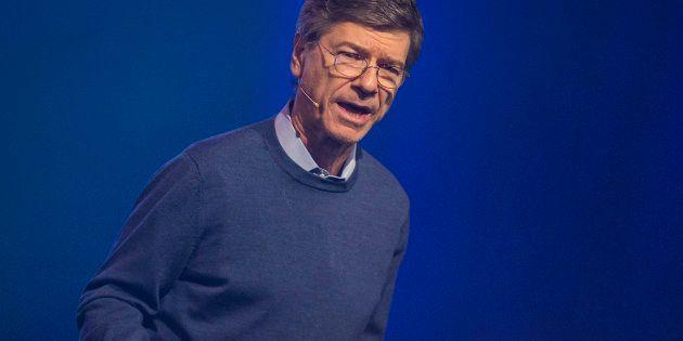Jeffrey Sachs, durante su intervención en el Starmus Festival de Trondheim