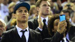 Cristiano con traje y gorra: cachondeíto en Twitter (FOTOS,