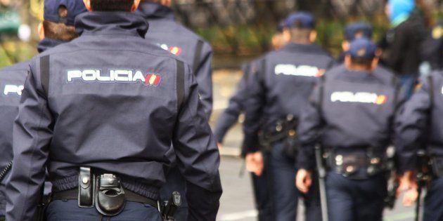 Agentes de la Policía Nacional, en una imagen de