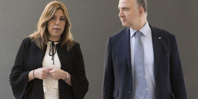 Susana Díaz y Pierre