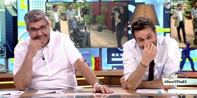Indignación con el programa de Dani y Flo por este chiste sobre Stephen