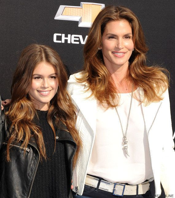 ¡Clonadas! El asombroso parecido de Cindy Crawford y su hija Kaia Gerber