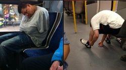Un aplauso para los que consiguen dormir en público