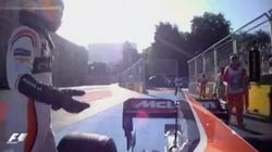 Sorpresa e incredulidad por lo que hace Fernando Alonso con su coche en este
