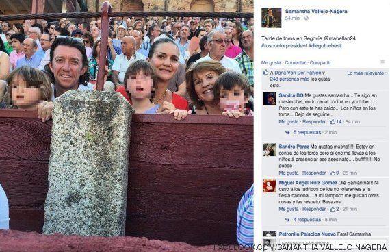 Críticas a Samantha Vallejo-Nágera por colgar una foto con niños en los
