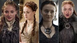 El secreto que esconde el pelo de Sansa en 'Juego de