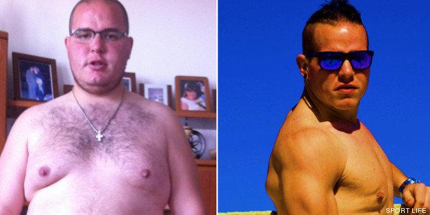lucia cuestion de peso antes y despues de adelgazar