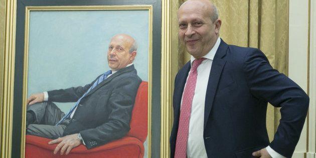 El retrato de Wert para el Ministerio de Educación costó 19.580