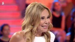 Ana Obregón habla de su encontronazo con Victoria Beckham en 'All you need is love... o