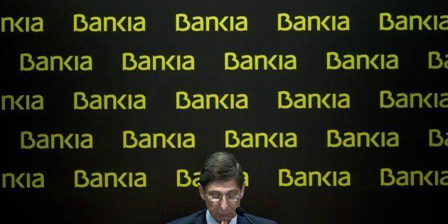 El presidente de Bankia, José Ignacio Goirigolzarri, en una imagen de