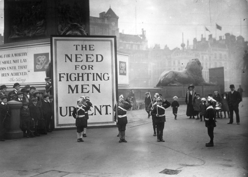 Los escenarios de la I Guerra Mundial antes y ahora