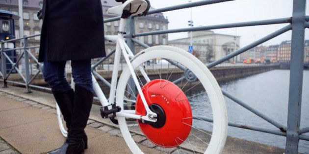 Copenhaguen Wheel: una rueda de bicicleta que te ayudará a subir cuestas