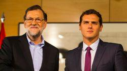 Rajoy y Rivera se reúnen en la Moncloa para acordar los Presupuestos de