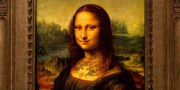 Tatuajes en obras de arte: el artista Nicolas Amiard tinta la piel de protagonistas de cuadros famosos