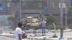 VÍDEO: El manifestante pacífico abatido frente a un