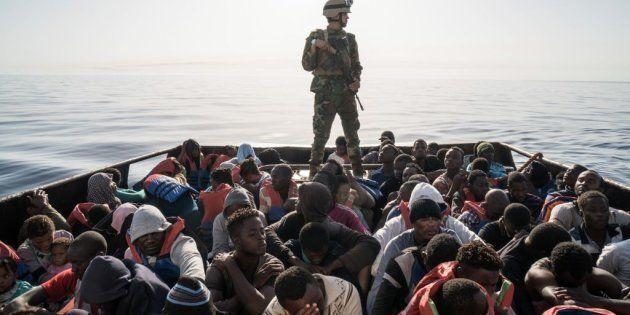 Casi 9.000 inmigrantes y refugiados rescatados en tres días en el