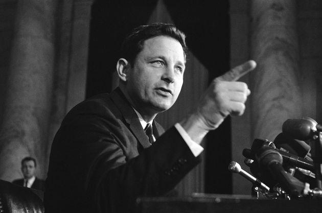 Former Sen. Birch Bayh, Champion Of Title IX Federal Law,