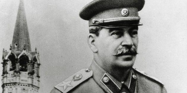 Soviet Communist dictator Joseph Stalin circa