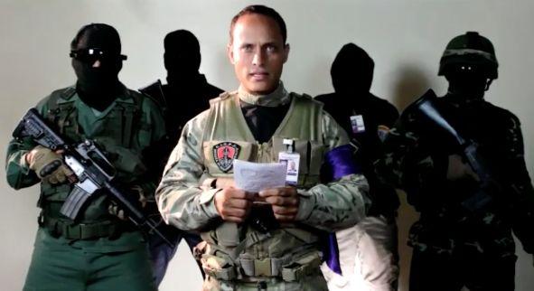 Un grupo de policías ataca con un helicóptero el Supremo de Venezuela y llama a la insurrección contra