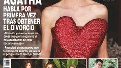 Ágatha Ruiz de la Prada cuenta los detalles de su divorcio en la portada de