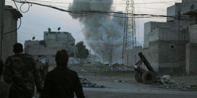 Al menos 85 muertos en Siria tras un bombardeo del régimen en