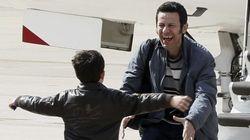 Los periodistas liberados en Siria: