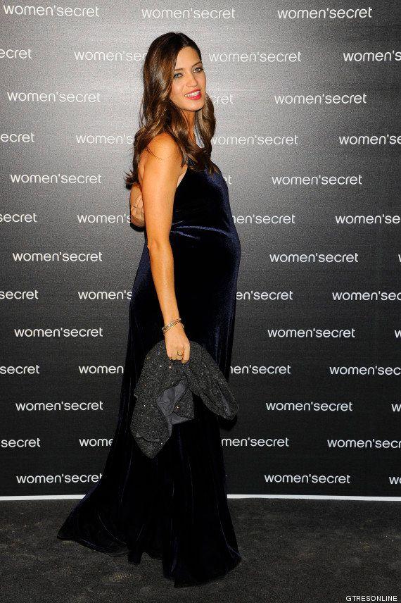 Sara Carbonero luce embarazo y blog en el aniversario de Women'secret FOTOS,
