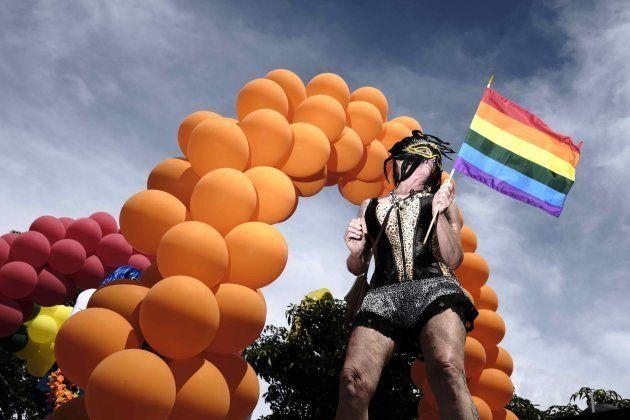 Desfile del Orgullo en San José (Costa Rica) el domingo 25 de
