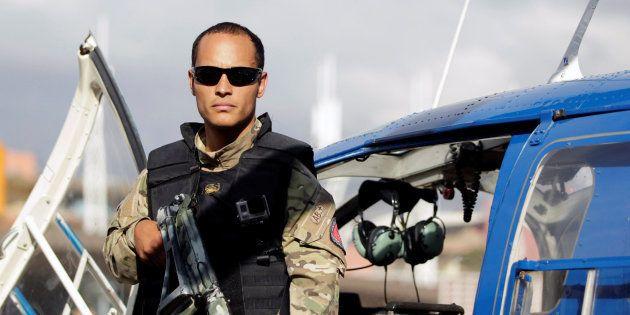 Imagen de archivo del policía venezolano Óscar