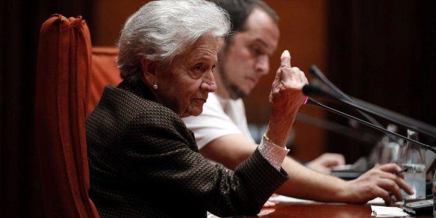 Marta Ferrusola, esposa del expresident de la Generalitat Jordi
