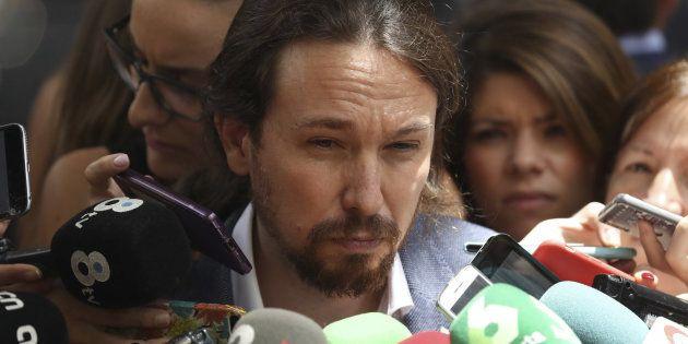 Pablo Iglesias cree que hubiera tenido sentido que Juan Carlos I fuera al 40º aniversario de la