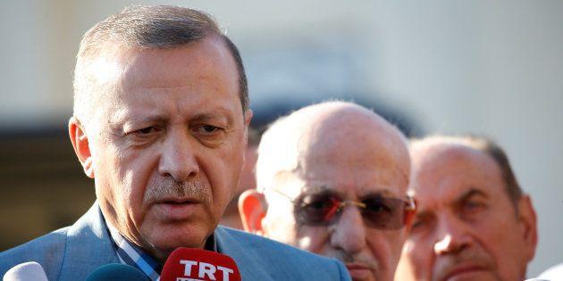 Imagen de archivo del presidente turco, Recep Tayyip