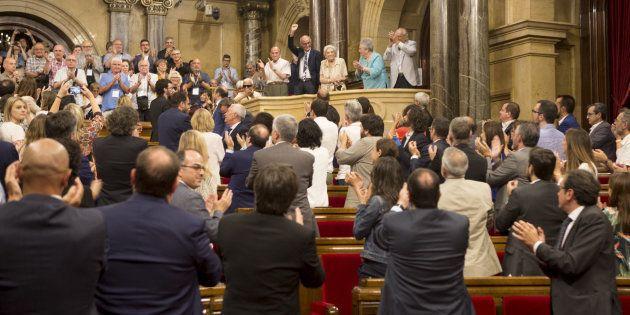 El Parlament de Cataluña declara ilegales por unanimidad los consejos de guerra del