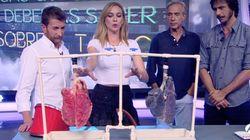 Marta Hazas impacta en 'El Hormiguero' con el pulmón de un