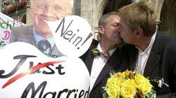 El Parlamento alemán aprueba el matrimonio