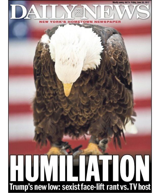 La dura portada del New York Daily News contra las declaraciones sexistas de