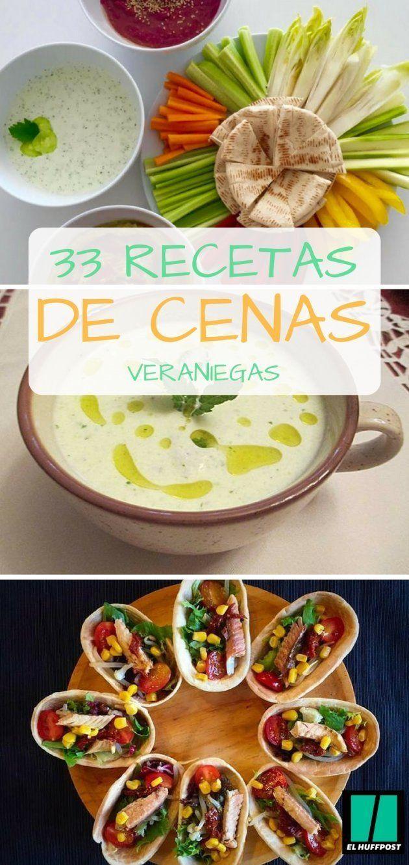 33 Recetas De Cenas Veraniegas Llenas De Color Y Sabor El