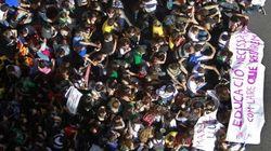 Miles de personas marchan en Barcelona contra la ley Wert y los