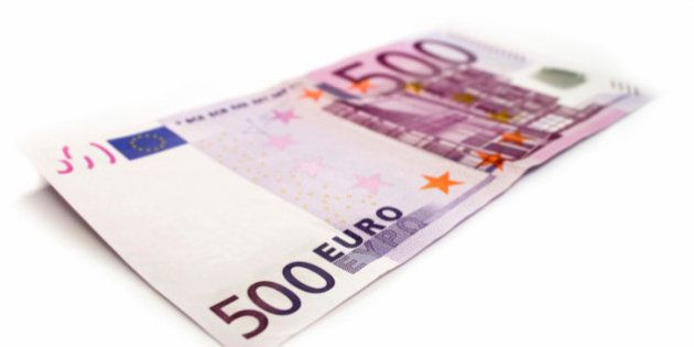 El número de billetes de 500 cae a niveles de mayo de