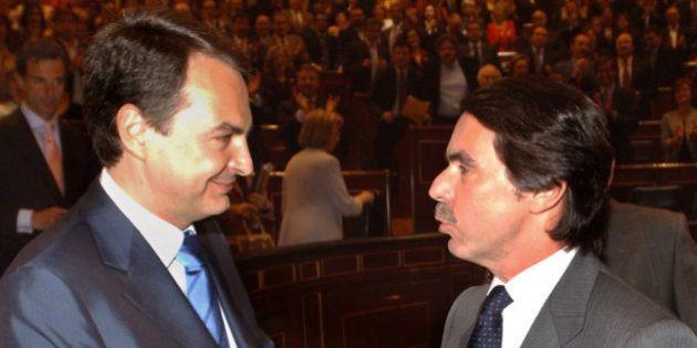Los 'piropos' de Aznar a Zapatero: