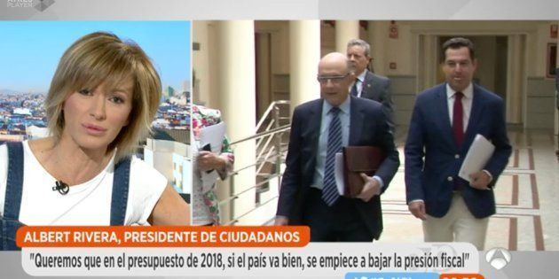 El enfado de Susanna Griso interrumpe en directo una entrevista con Albert