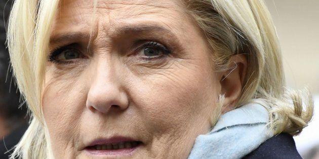 Imagen de archivo de Marine Le Pen, líder del Frente